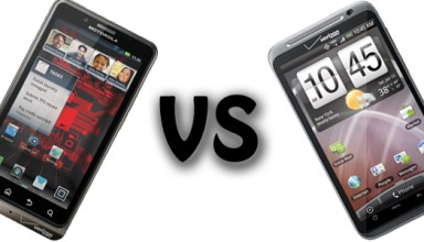 Droid Bionic vs. HTC Thunderbolt