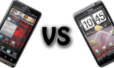 Droid Bionic vs. HTC Thunderbolt