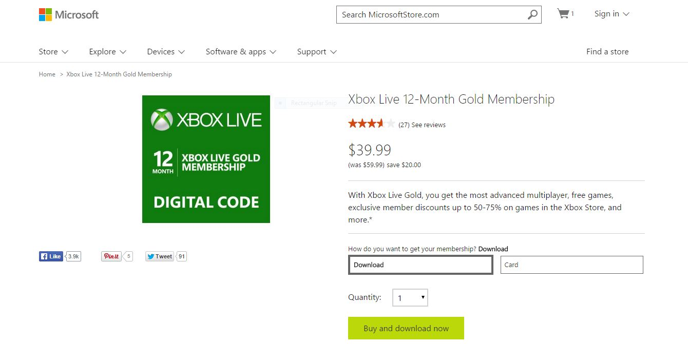 Cheap Xbox Live is the Best Deal in Gaming