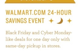 early Walmart Black Friday 2014 deals