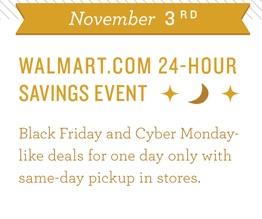early Walmart Black Friday 2014 deals