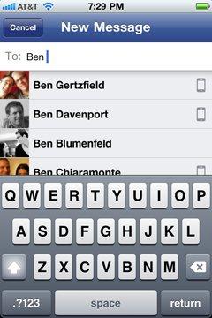 Facebook Messenger App