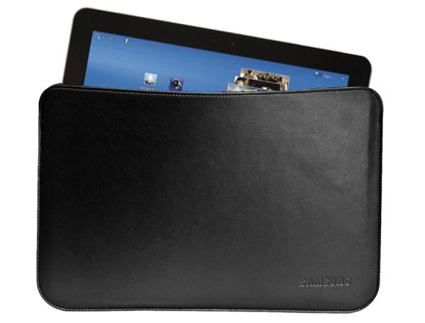 Samsung Galaxy tab 10.1 leather slip case