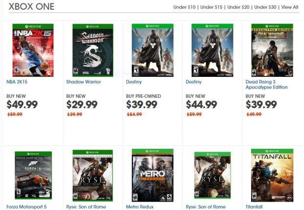 GameStop Green Monday deals.