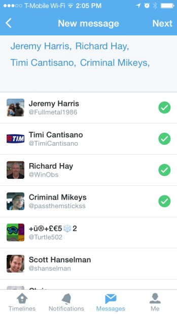 how to send direct group messages on twitter (6)