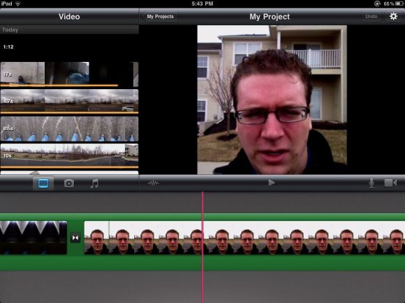 iMovie Overview iPad 2 Review