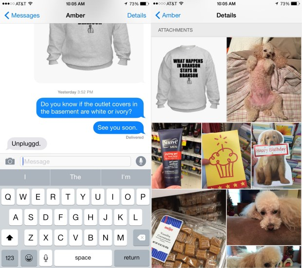 Want to track down a photo your friend sent a week ago? Use this hidden iOS 8 feature to find it faster.