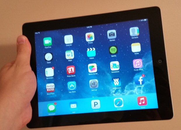 iOS 8.1.3 iPad 3 early review