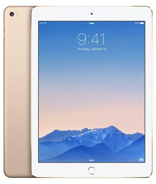iPad Air 2 colors gold