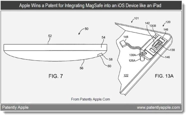 iPad Magsafe Patent