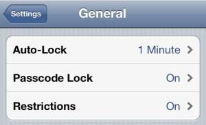 iPhone 4S Better Battery Life - AutoLock