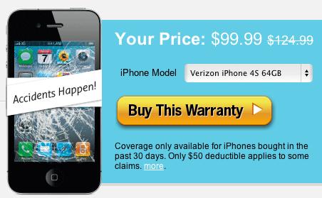 iPhone 4S Insurance SquareTrade