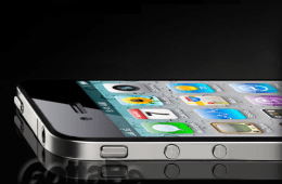 iPhone 5 side view watermark