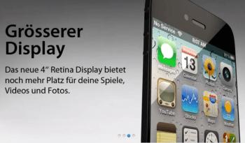 iPhone 5 website leak