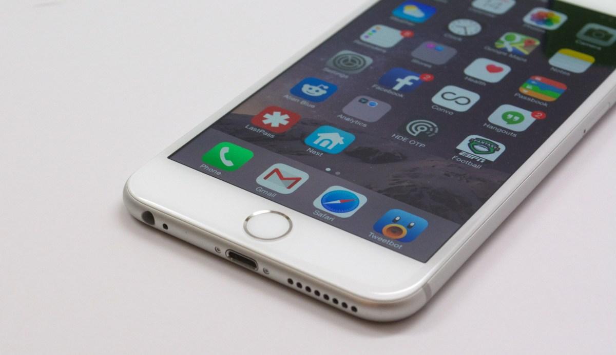 iphone 6 plus skärm problem