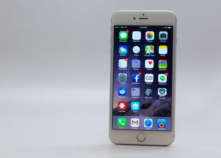Updates can fix some iPhone 6 Plus WiFI problems.