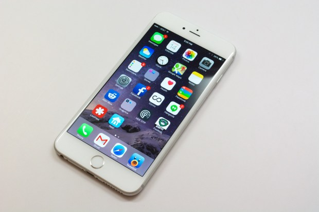 The iPhone 6 Plus display is smaller and lower resolution than the Nexus 6.