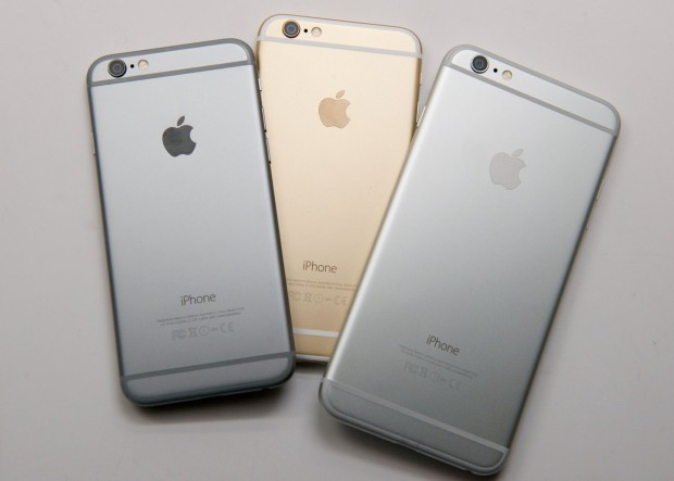It's easier to find the iPhone 6 Plus and iPhone 6 in stock in November.