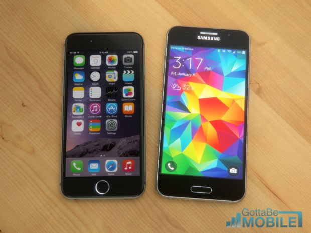See how the iPhone 6 vs Galaxy S6 displays compare based on rumors.
