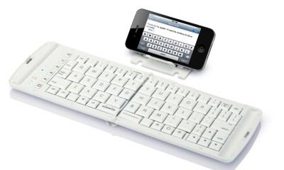 iPhone Bluetooth foldable keyboard