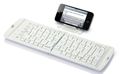 iPhone Bluetooth foldable keyboard