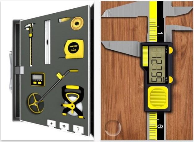 iPhone DIY apps - Measurements