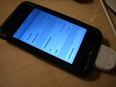 iPhoneNetshare