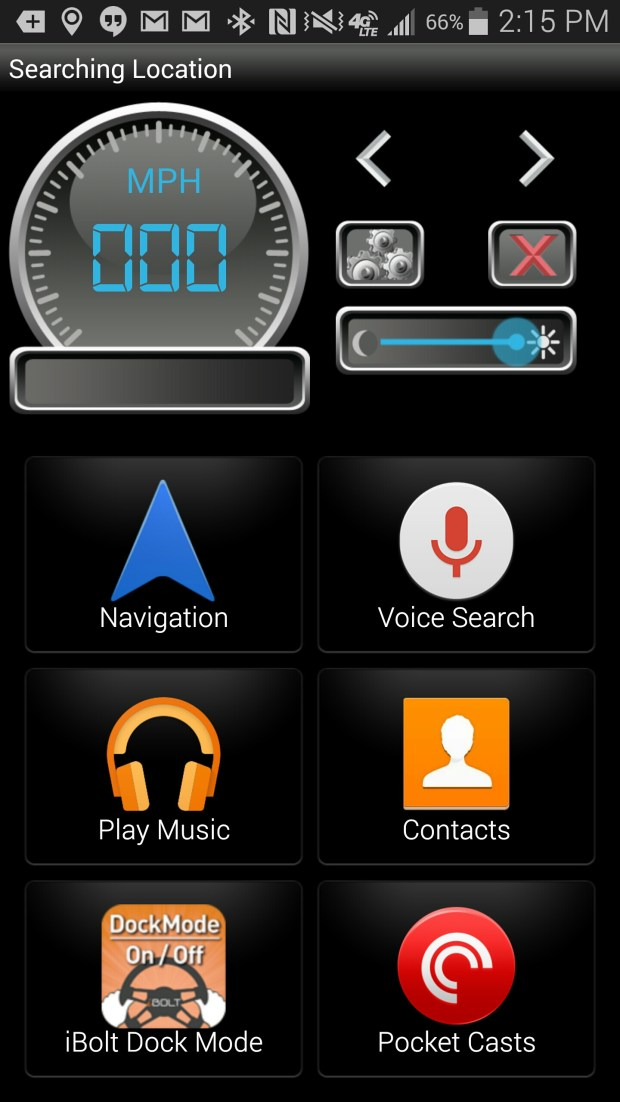 ibolt dock n drive android app