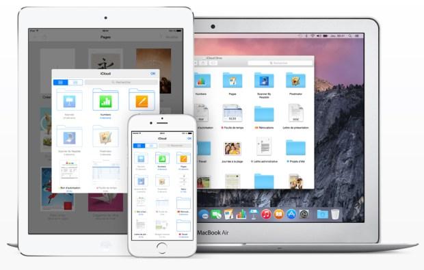 iCloud Drive iOS app