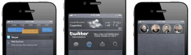 ios 5 notification widget
