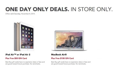 Score sweet iPad Air and iPad Air 2 deals at Best Buy.