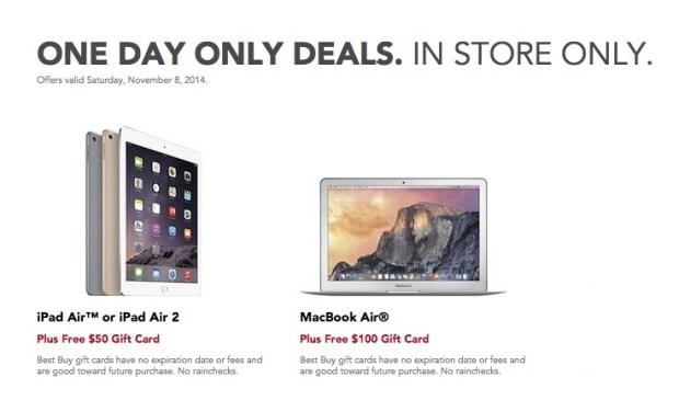 Score sweet iPad Air and iPad Air 2 deals at Best Buy.