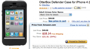 Amazon.com OtterBox Defender Case iPhone 4
