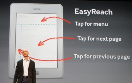 Kindle Touch EasyReach