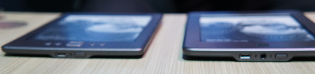 Kindle Touch and Kindle thickness