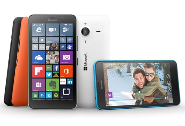 The Lumia 640 XL.