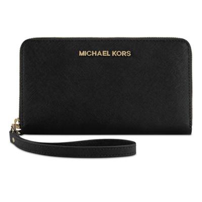 michael kors large zip wallet