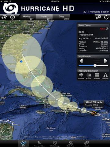 Hurricane HD for iPad