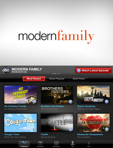 ABC Player for iPad