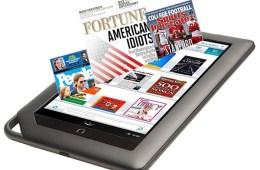 Nook Color Enhanced Magazines