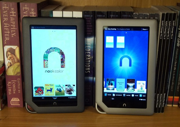 Nook Color and Nook Tablet