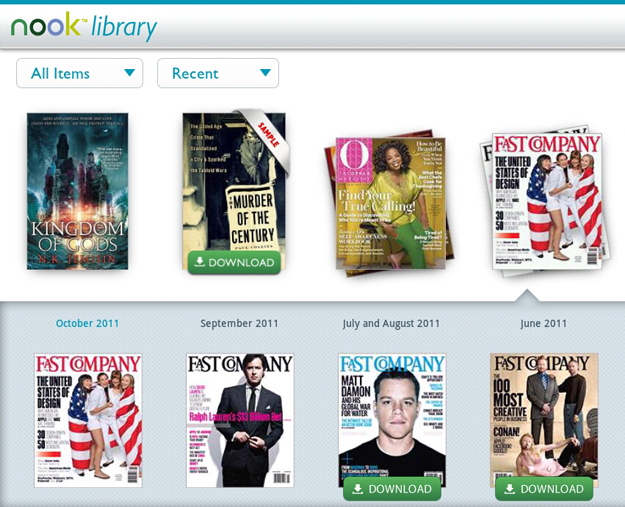 Barnes and Noble Nook app for Android