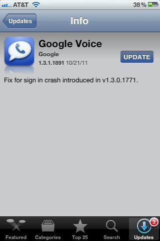 Google Voice Returns to the iOS App Store
