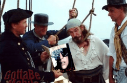 pirate being hung for lady gaga