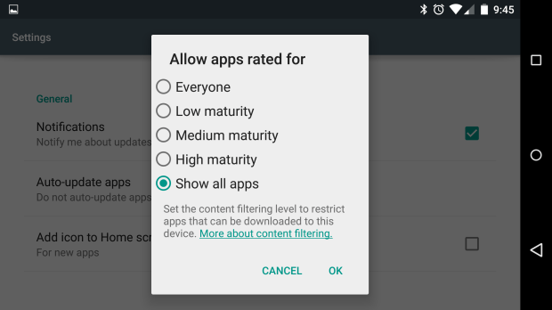 playstore-filtering
