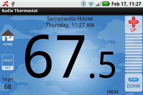 radio thermostat Android app