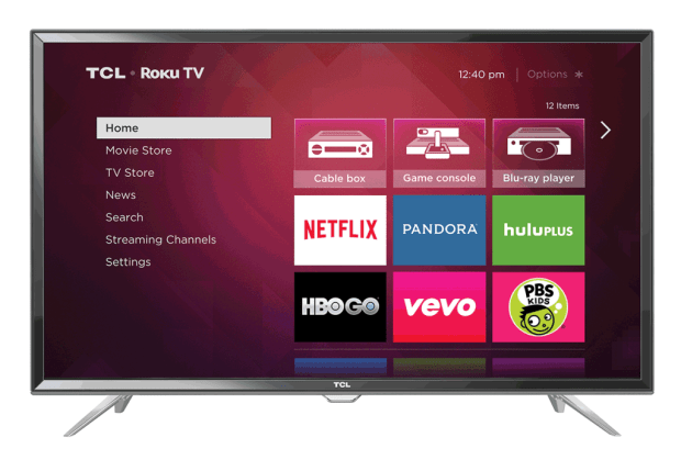 roku streaming stick user interface