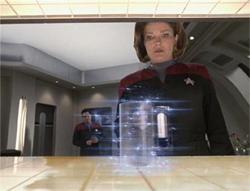 Janeway at the Replicator