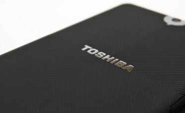 Toshiba Thrive Tablet - Back