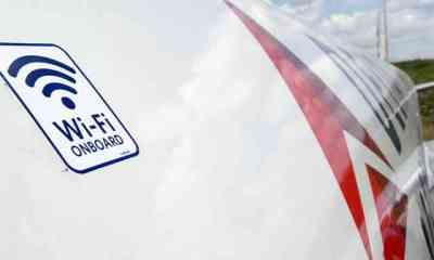 Delta Plane Wi-Fi On Board Decal